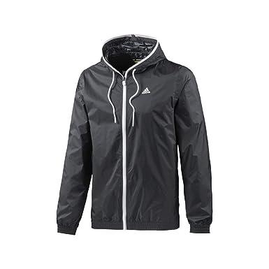 Negro Lluvia Chaqueta Rain Negro Jacket adidas Light 3S LAj35R4