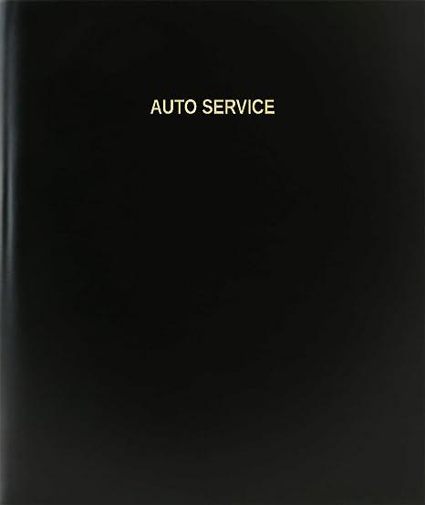 amazon com bookfactory auto service log book journal logbook