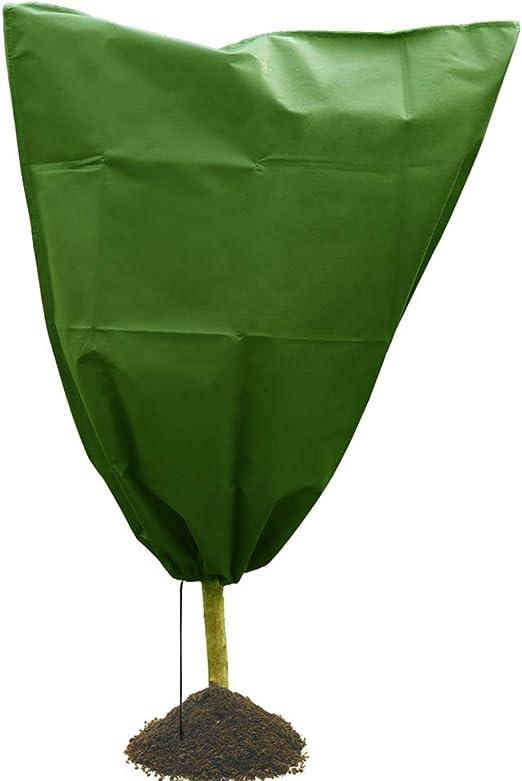 JYCRA - Funda de protección para Plantas de Invierno, Bolsa de Calentamiento para Plantas de jardín, Chaqueta de Forro Polar para árboles de arbustos, Juego de 3: Amazon.es: Jardín