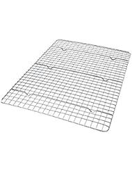 USA Pan 1602CR Half Sheet Bakeable Nonstick Cooling Rack Pan, Metal
