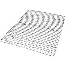 USA Pan Bakeware Half Sheet Bakeable Nonstick Cooling Rack