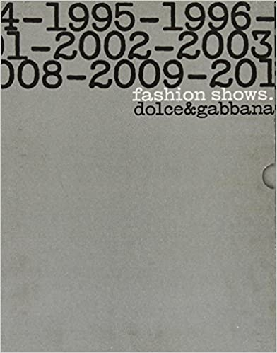 Book Dolce & Gabbana Fashion Shows: 1990-2010