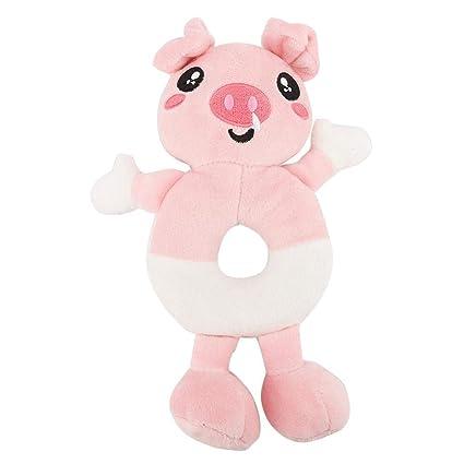 Suave juguete de peluche para mascotas, Bebé recién nacido Mano Bell ...