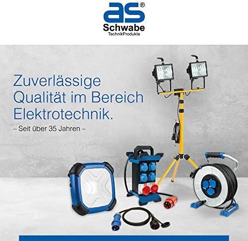 15m H05VV-F 3G1,5 ***NEU*** as-Schwabe 12611 Automatischer Kabelaufroller 15m