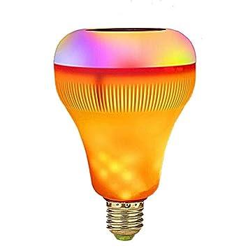 LED Llama Lámpara RGB E27 música Componentes LED de de luz FJclK1