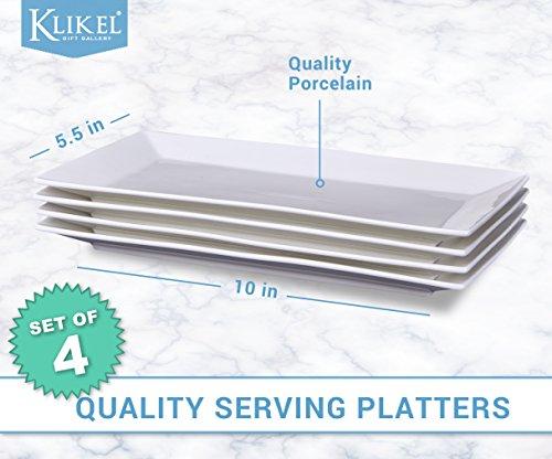 Review Klikel 4 Serving Platters