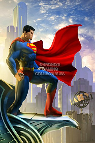 cgc-huge-poster-dc-universe-online-superman-ps4-ps3-xbox-one-oth144-16-x-24-41cm-x-61cm