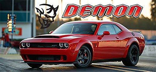 2018 Dodge Challenger Demon Poster Srt Mopar Large Charger Muscle Car