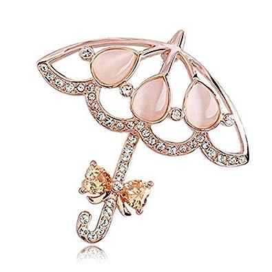 Lily joyas piedras de ojo de gato con cristales de Swarovski ...