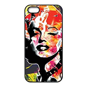Marilyn colour Case Cover For iPhone 5S Case
