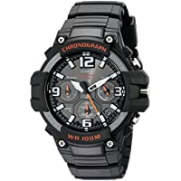 Men's MCW-100H-1AVCF Heavy Duty Design Watch with Black Silicone Band Watch