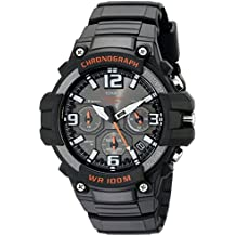 f31fbdd5c9f Casio Men s MCW-100H-1AVCF Heavy Duty Design Watch with Black Silicone Band  Watch