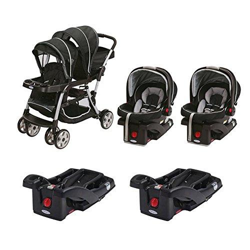 Graco Dual Baby Stroller - 4