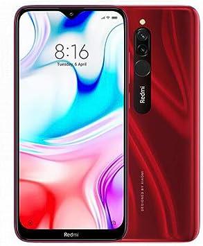 Xiaomi Redmi 8 Smartphone 4GB RAM 64GB ROM Snapdragon 439 10W Carga rápida 5000 mah Batería Celular Rojo: Amazon.es: Electrónica