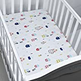 Crib Sheets,Toddler Bed Mattress Water Resistant,Breathable,Lightweight, Hypoallergenic for Baby & Toddler