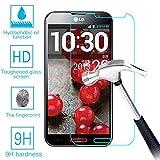 LG G Pro F240 E980 E985 Real Tempered Glass Screen Protector Guard,Bubble-free Anti-Scratch Ultra...