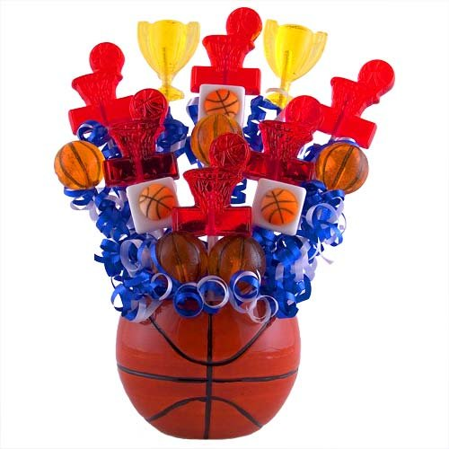 - Lollipop Bouquet Basketball.