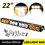 22 led light bar single row - Dual Function LED Light Bar 22