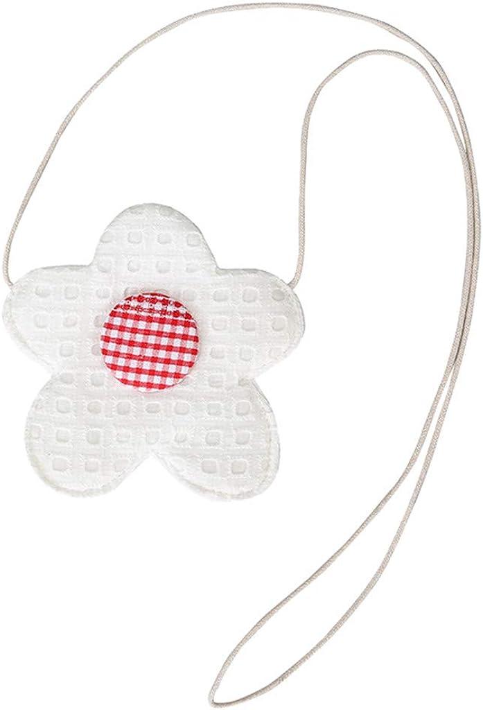 Mini Cute Crossbody Bags,SIN+MON 2019 Best Gift for Kids Flower-Shaped Shoulder Bag Lightweight Creative Girls Purse Bag
