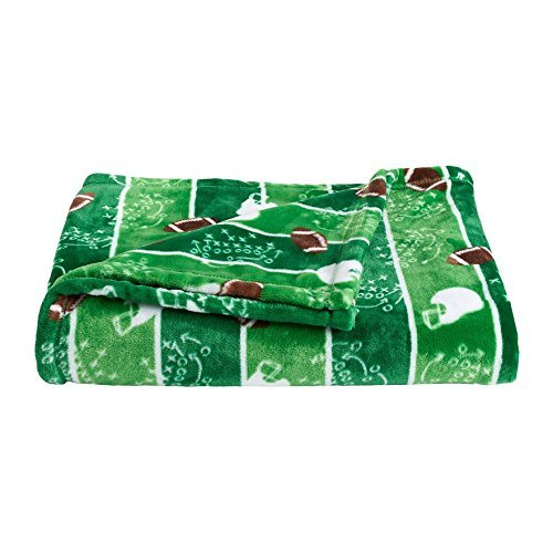 The Big One Super Soft Plush Throw Football Plush Football Blanket