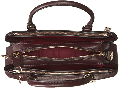 Light À oxblood Pour Main Femme Sac Coach Gold 6XqRgg