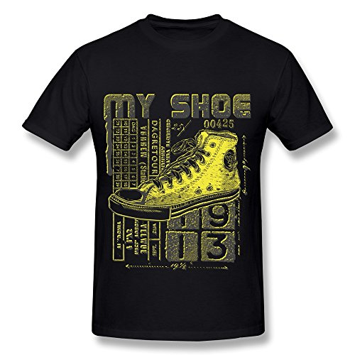 KEMING Men's This Is My Shoe T-shirt L