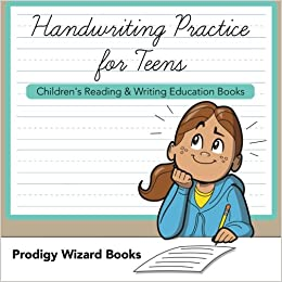 Handwriting Practice for Teens : Children's Reading ...