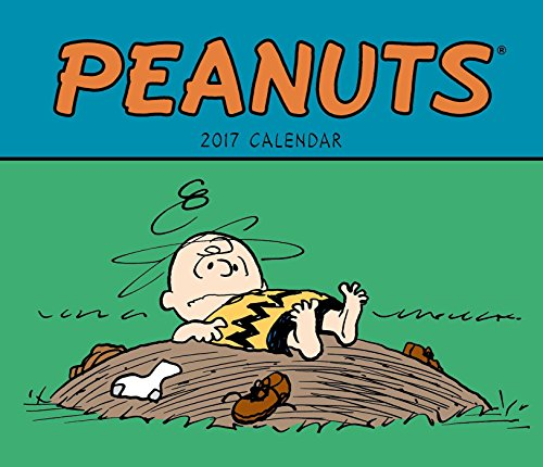 Peanuts 2017 Weekly Planner Calendar (Spiral Red Peanut)