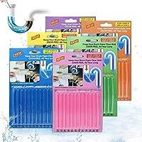Drain Sticks JOYXEON Drain Cleaner Sticks Deodorizer Enzymatic Drain Cleaning Sticks for Kitchen Sink Bathroom Toilet...