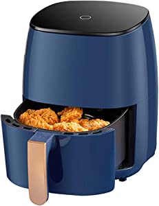 DEMO Air Fryer with Rapid Air Circulation System,1300 W 3 L Digital Touchscreen Air Fryers Oven, Oil Free Hot Cooker, Nonstick Basket, BPA&PFOA Free
