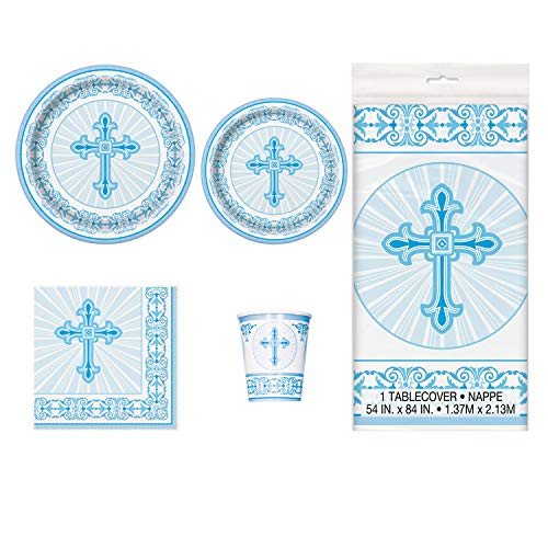 (Blue Radiant Cross Party Package - Serves 16 (Blue))