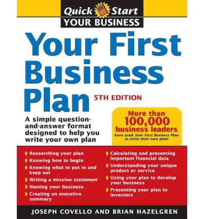 (Your First Business Plan) By Joseph A. Covello (Author) Paperback on (Oct , 2005) (Anglais) Broché – 1 octobre 2005 Sourcebooks Inc B009QTIFD0
