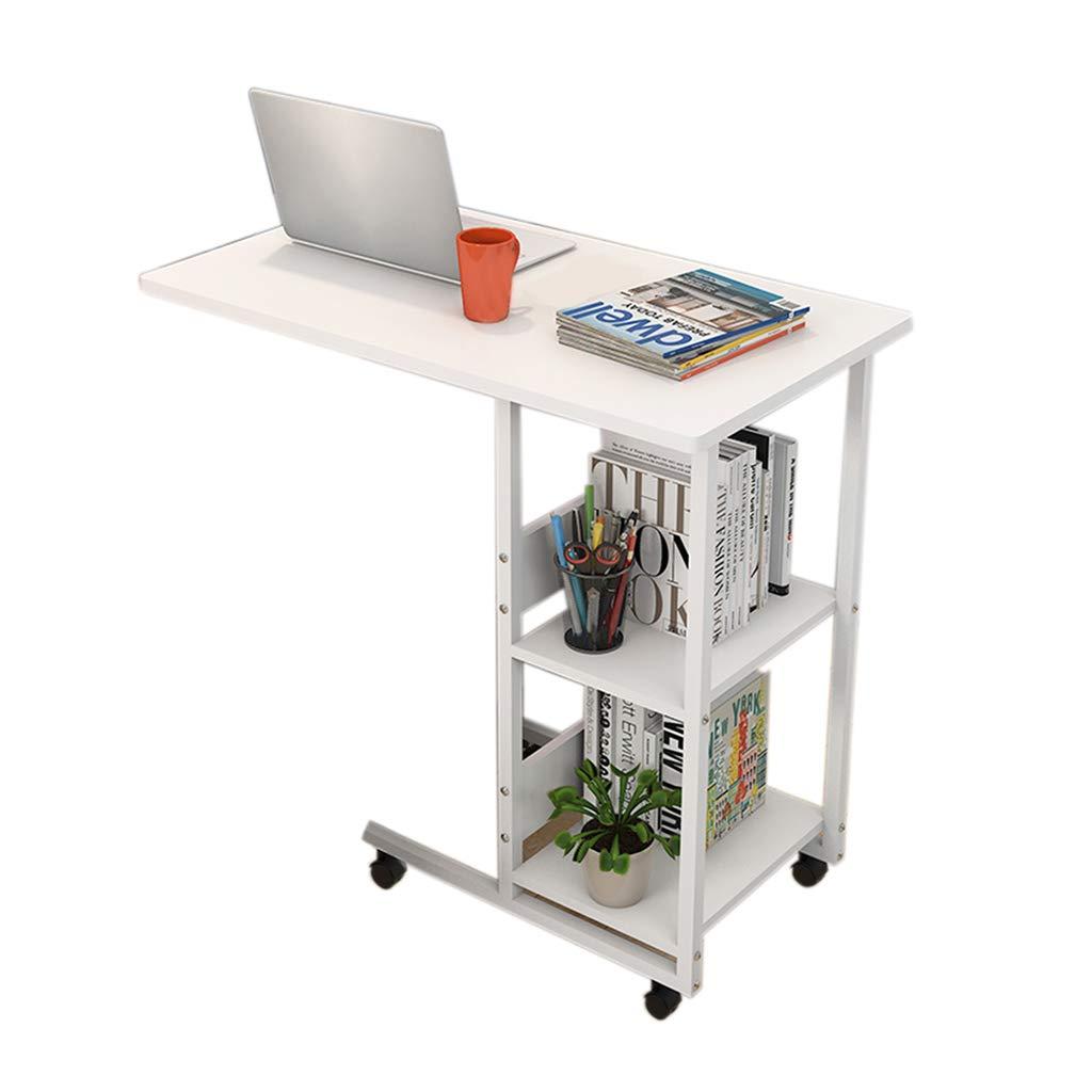 Desk Mobile Laptop, Home Multi-Function Mobile Lazy Bedside Table