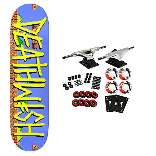 Deathwish Skateboard Complete Deathspray 8-Bit 8.25