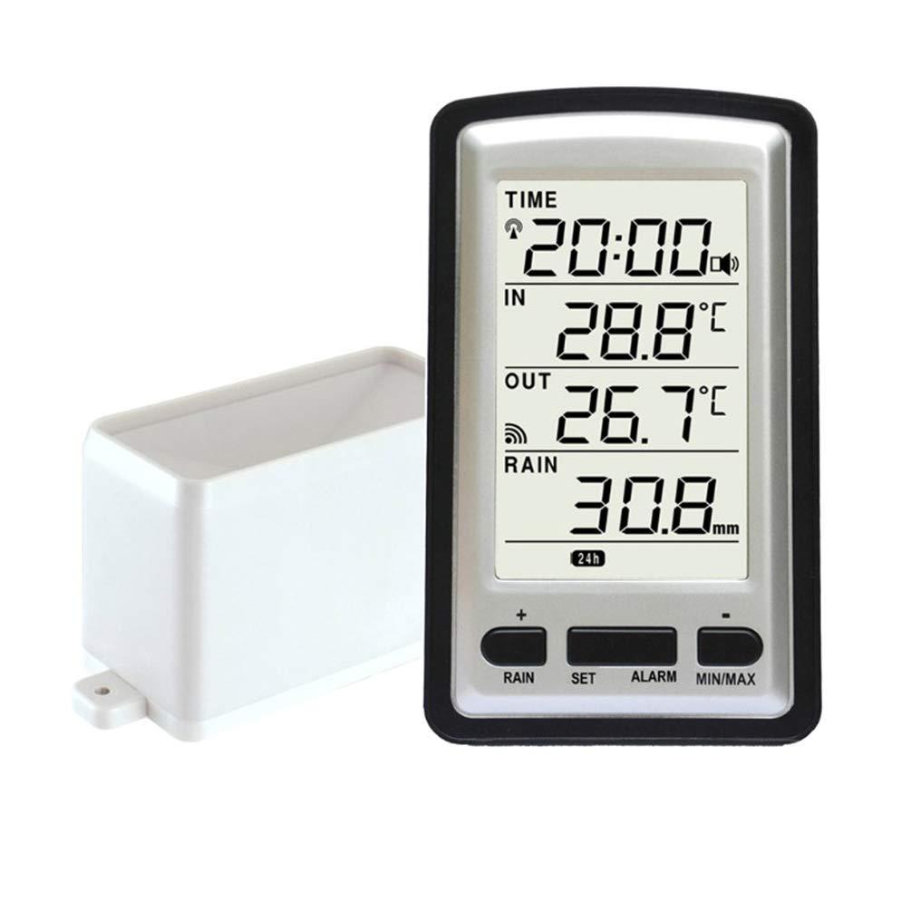 Medidor de Lluvia Precisión Im meable Sensor Inalámbrico ...