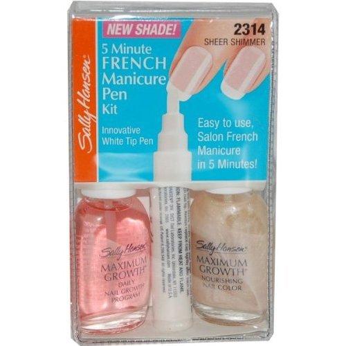(Sally Hansen 5 Minute French Manicure Pen Kit - Sheer Shimmer (2314))