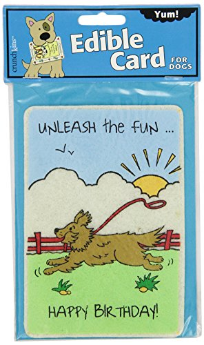 Image of Crunchkins Edible Crunch Card, Birthday, Unleash The Fun