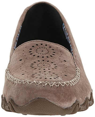 Pedestrian Skechers Brown a collo Donna Expressway Scarpe Bikers basso Dark q4w5Zc5gnW