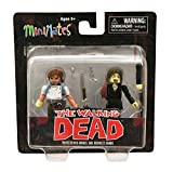 Minimates The Walking Dead Rick Grimes and Business Zombie