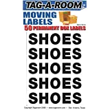 Tag-A-Room Box Content Moving Label (Shoes)