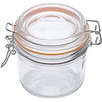 Pote Hermético Malibu Laranja Lyor Transparente 200 ml Vidro