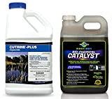 Cutrine Plus & Bio-Chemical Catalyst Pond Algae Killer Adjuvant Booster Package