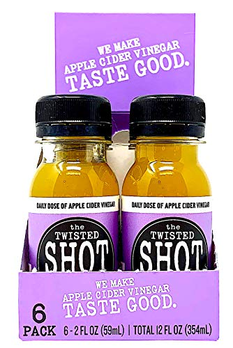The Twisted Shot - Organic Apple Cider Vinegar shot with Turmeric, Ginger, Cinnamon, Honey & Cayenne - 6-pack of 2oz shots by The Twisted Shrub (Image #4)