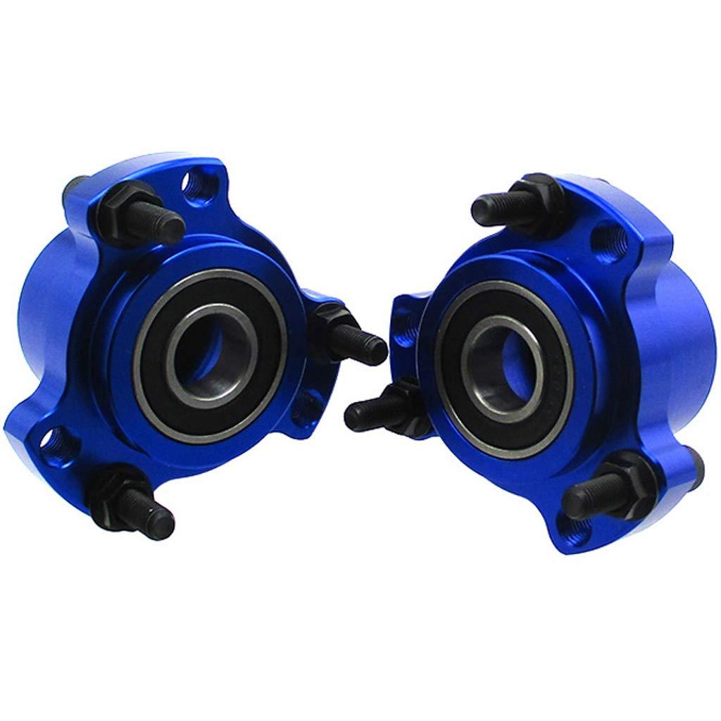 TC-Motor 2pcs Front Wheel Hub 5//8 Bearing 1//4 Bolts For Race Go Kart Drift Trike Blue