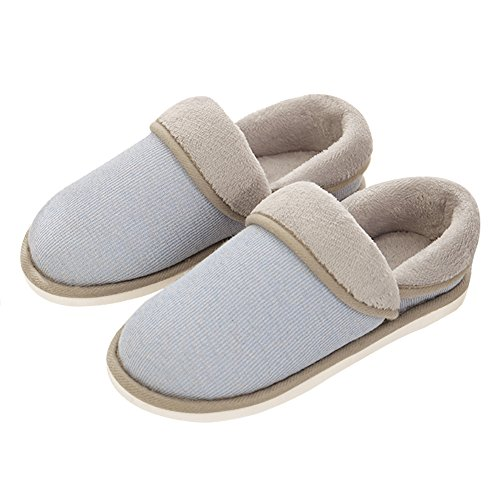 NineCiFun Lightblue Outdoor Indoor Slippers Moccasin Slippers House Comfort Womens rqwU8rZ