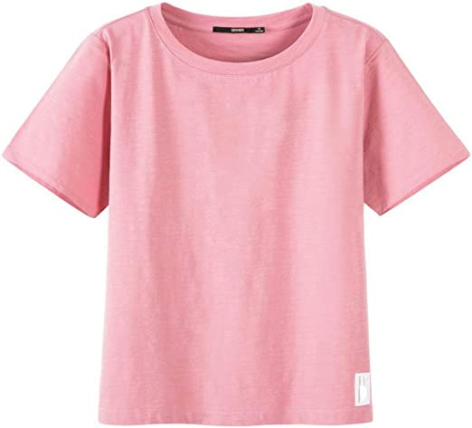 AYUOP Camiseta Mujer Nuevas Camisetas de Algodón Mujeres Vogue ...