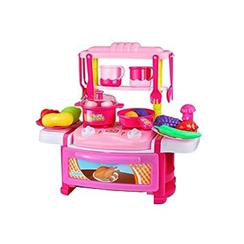 Amazon.com : HAIZHEN Intellectual toy Children\'s Kitchen toy ...