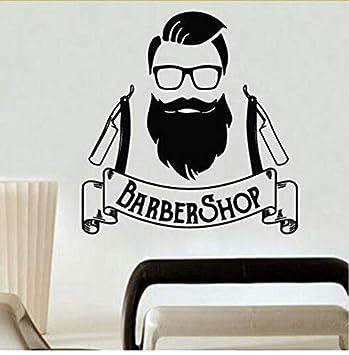 Art Déco Moderne Bricolage Stickers Muraux Homme Hipster ...
