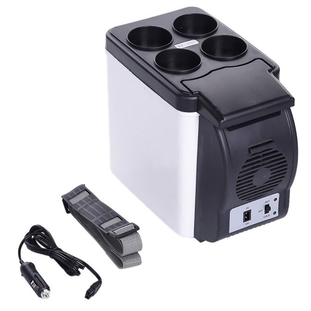 WYNZYYX Refrigerador Mini 6L Coche, Nevera Portátil 12V Congelador ...