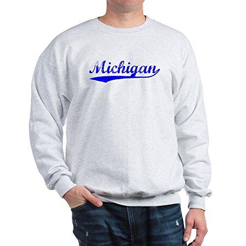 Traverse Insulated Pant (CafePress - Vintage Michigan (Blue) Sweatshirt - Classic Crew Neck Sweatshirt)